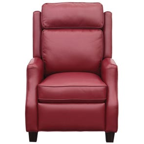 Barcalounger Vintage Nixon Recliner in Blanche Fire Red