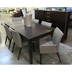 Clearance Bermex Casual Contemporary Dining Set OVFCR121751