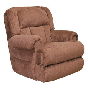 Catnapper Burns Power Lift Full Lay Flat Recliner with Dual Motor Comfort and Function in Vino