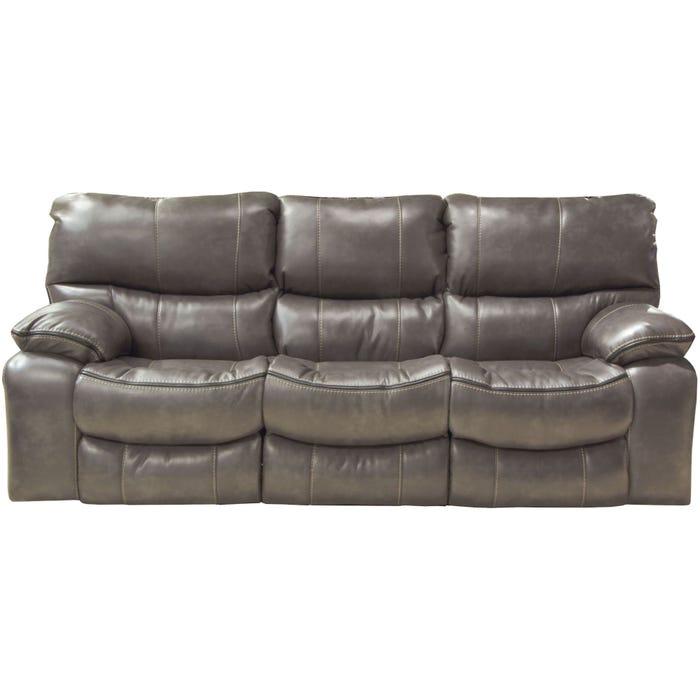 Catnapper Camden Lay Flat Reclining Sofa in Steel