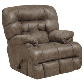 Catnapper Colson Chaise Rocker Recliner with Heat and Massage in Marble