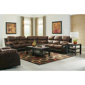 Catnapper Henderson Sectional in Sunset