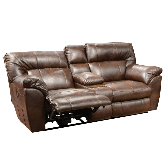 Swell Wide Leather Recliner Bralicious Painted Fabric Chair Ideas Braliciousco