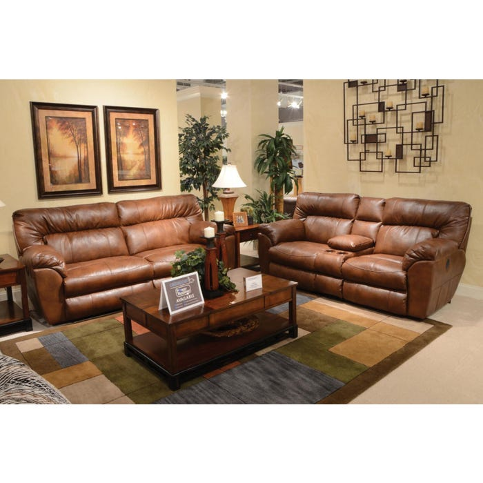 Excellent Catnapper Nolan Extra Wide Reclining Sofa In Chestnut With Power Option Inzonedesignstudio Interior Chair Design Inzonedesignstudiocom