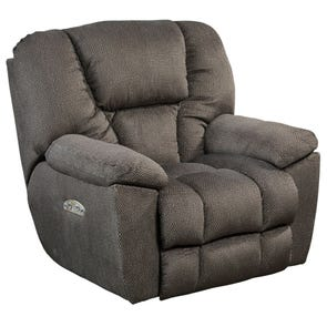 Catnapper Owens Power Lay Flat Recliner with Power Headrest in Seal