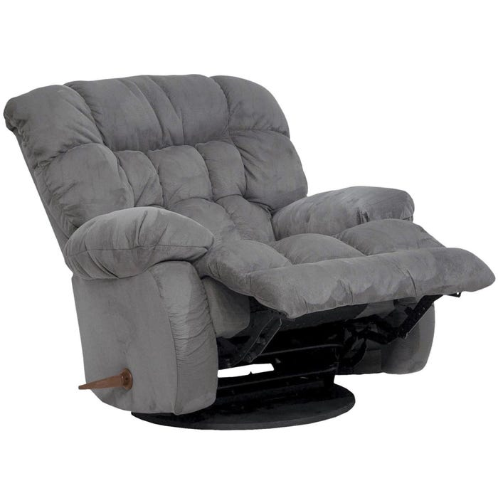Catnapper Teddy Bear Inch A Way Wall Hugger Recliner in Graphite on