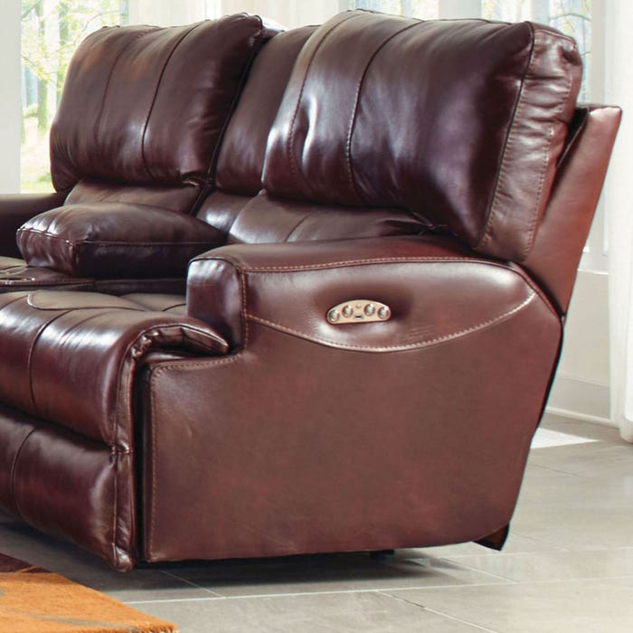 Super Catnapper Wembley Leather Power Lay Flat Recliner With Power Recline And Power Headrest In Walnut Pabps2019 Chair Design Images Pabps2019Com