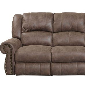 Catnapper Westin Rocking Reclining Loveseat in Ash