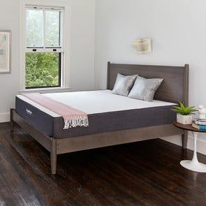 Twin XL Classic Brands Bed in a Box Cool Gel 10.5 Inch Ventilated Gel Memory Foam Mattress
