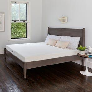 Twin XL Classic Brands Bed in a Box Cool Gel 6 Inch Ventilated Gel Memory Foam Mattress