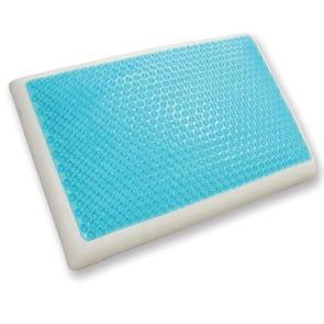Classic Brands Cool Gel Standard Size Reversible Gel and Memory Foam Pillow