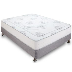 Queen Classic Brands Bed in a Box Decker 10.5 Inch Firm Hybrid Memory Foam and Innerspring Mattress