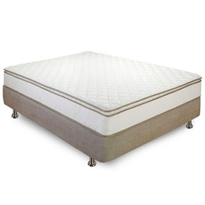 Twin Classic Brands Bed in a Box Innerspring 10 Inch Pillowtop Mattress