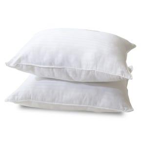 Classic Brands Standard Quiet Sleep Gel Fiber Pillow 2 Pack
