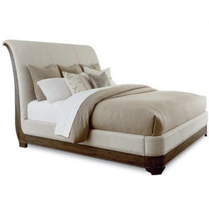 Clearance A.R.T. Furniture St. Germain Upholstered California King Sleigh Bed OVFN111802