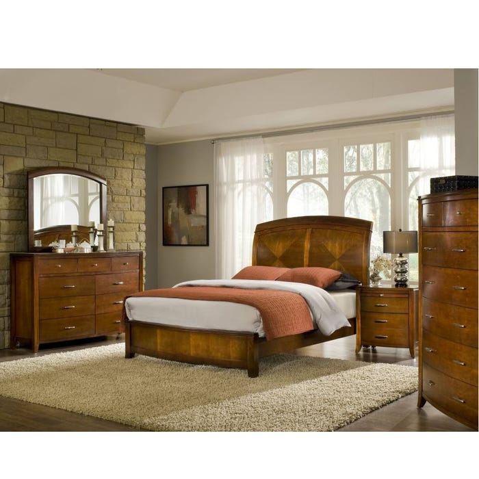 Clearance Modus Furniture Brighton 6 Piece Queen Bedroom Set ...
