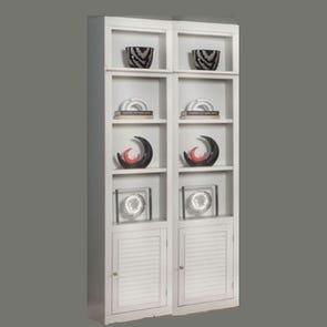 Clearance Parker House Boca Bookcase Set of 2 OVFN111806