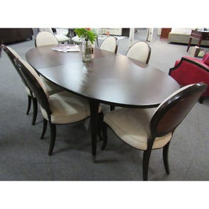 Clearance Caracole Classic Dinner Invitation 7 Piece Dining Set with Ladies Choice Dining Chairs OVFCR031906