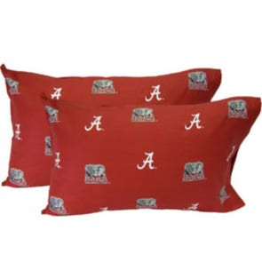 College Covers University of Alabama King Pillowcase Pair