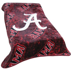 College Covers Alabama Throw Blanket