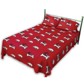 College Covers University of Arkansas Sheet Set