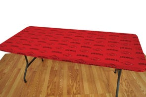 College Covers University of Arkansas 6 Foot Table Cover