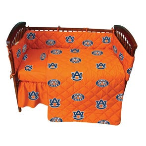 College Covers Auburn University Crib Set