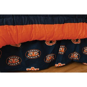 College Covers Auburn University Dust Ruffle