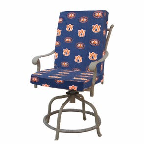 College Covers Auburn University 2 Piece Chair Cushion