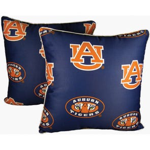 College Covers Auburn University Decorative Pillow Set of 2
