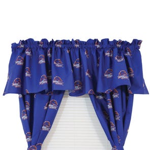 College Covers Boise State University Printed Curtain Panels