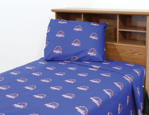 College Covers Boise State University Printed Sheet Set