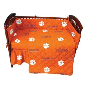 College Covers Clemson University Crib Set