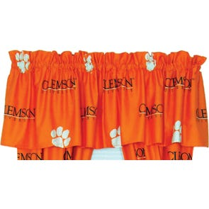 College Covers Clemson University Curtain Panel 84 Inch