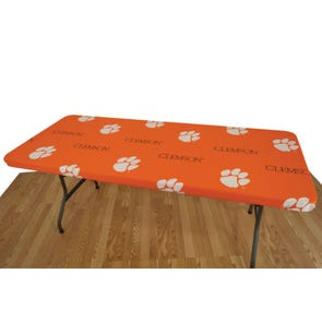 College Covers Clemson University 6 Foot Table Cover