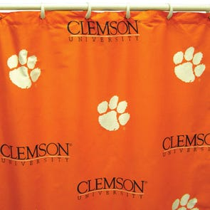 Auburn Printed Shower Curtain by College Covers