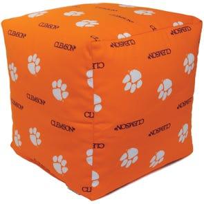 College Covers Clemson University Cube Cushion