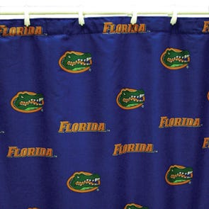 Clemson Printed Shower Curtain by College Covers