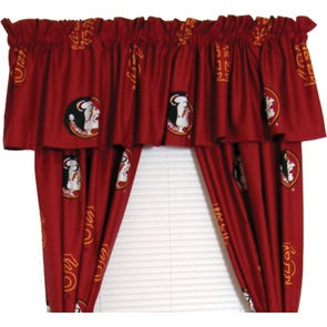College Covers Florida State University Curtain Panel 63 Inch