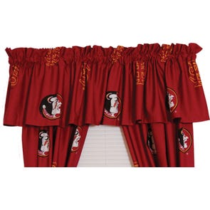 College Covers Florida State University Curtain Panel 84 Inch
