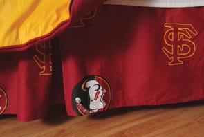 College Covers Florida State University Dust Ruffle