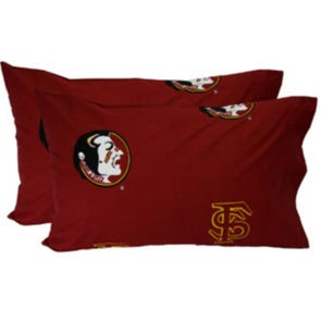 College Covers Florida State University King Pillowcase Pair