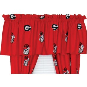 College Covers University of Georgia Curtain Panel 84 Inch