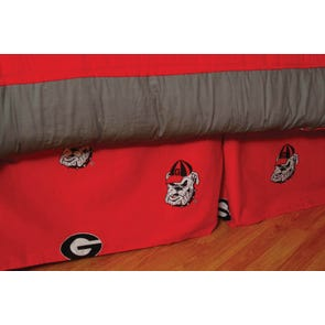 College Covers University of Georgia Dust Ruffle