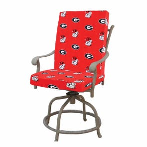 College Covers University of Georgia 2 Piece Chair Cushion