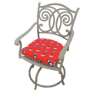 College Covers University of Georgia D Chair Cushion