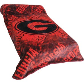College Covers Georgia Throw Blanket