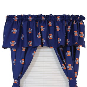 College Covers Boise State University Printed Curtain Valance