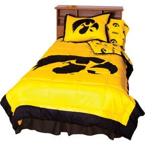 College Covers University of Iowa Comforter Set