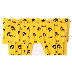 College Covers University of Iowa Curtain Panel 84 Inch